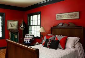 Brilliant Red And Black Bedroom Color Schemes 53 In Small Home Remodel  Ideas with Red And Black Bedroom Color Schemes