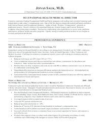 Physician Resume Samples Letter Resume Directory