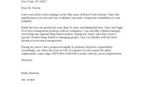 Salary In Cover Letter Primeliber Com