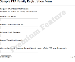Sample Forms Digital Pto - Free Websites For Pta And Pto Groups