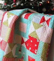 105 best modern christmas quilts images on Pinterest | Christmas ... & christmas quilt Adamdwight.com