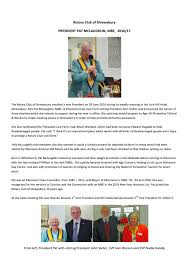 Rty president pat's charities by Alan Wilding - issuu