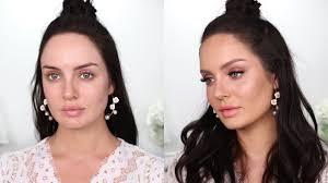 summer makeup transformation flirty peaches pinks chloe morello
