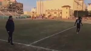 """شاهد رضا عبد العال يصرخ بعد ضياع فرصة لطنطا """"يالهوي"""" - YouTube"""