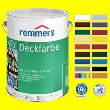 Remmers Deckfarbe Holzfarbe Wetterschutzfarbe Farbe Innen Außen