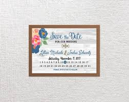 Birthday Save The Date Cards Calendar Save The Date Cards Wedding