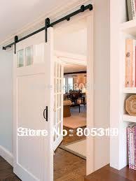 5ft6ft66ft8ft rustic black vintage sliding barn door hardware european barn style sliding doors