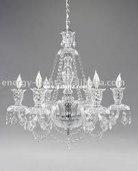 glass pendant chandelier photo 2