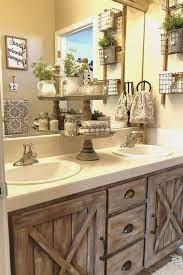 Awesome Farmhouse Bathroom Vanity Decor Ideas 6 Bathroom Vanity Decor Bathroom Decor Farmhouse Bathroom Decor
