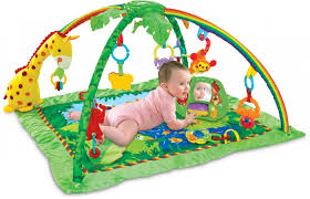 <b>Развивающий коврик FunKids</b> Delux Play Gym Giraffe CC9657 ...