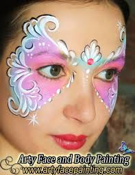 arty face and painting face painter denver co