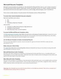 Free Resume Template For Mac Or Free Basic Resume Templates
