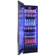 schmick upright glass door beer drinks fridge