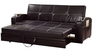 Amazing Furniture Leather Sleeper Sofa Barcelona Pu Double Sleeper