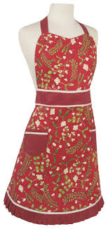 Now Designs Apron Now Designs Betty Mistletoe Apron