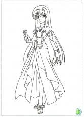Small Picture Printable Coloring Pages Mermaid Melody Pichi Pichi Pitch 2