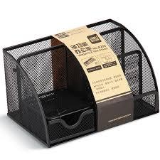 office pen holder. Dali 9200 Office Supplies Multifunction Pen Holder Storage Box Metal Mesh
