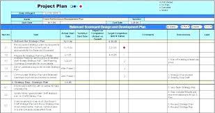 Construction Project Schedule Template Excel Work Plan Template Xls
