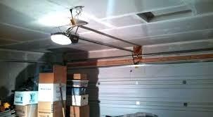 which is the best garage door opener low ceiling garage door opener headroom door frame and