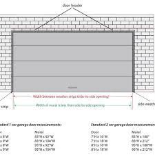 Top 10 Garage Door Sizes 2017 - Ward Log Homes