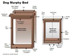 Murphy bed plans Horizontal Dogmurphybed4 How To Make Dog Murphy Bed For Home Or Rv