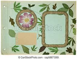 page rustic elements.  Elements Old Photo Album Scrapbooking Element Intended Page Rustic Elements
