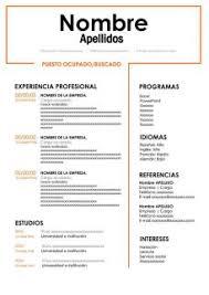 Curriculim Vitae Ejemplos De Curriculum Vitae Para Descargar Gratis En Word