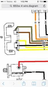 stator 4 wire vs 5 wire compatability x h2o yellow two in a 5 wire are the charging wires blk red in a 4 wire