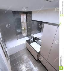High Tech Bathroom Spacious Bathroom High Tech Style Stock Illustration Image 59250787