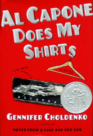 al capone does my shirts mcgraw high school library al capone does my shirts by gennifer choldenko