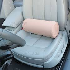 elastic fiber cloth pillow and cotton quilt creative air conditioning car cover cushion pink