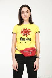 "<b>Футболка женская</b> Russian <b>style</b> ""Солнце красное"" – купить на ..."