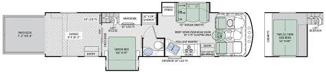 2017 outlaw cl a 37rb floor plan