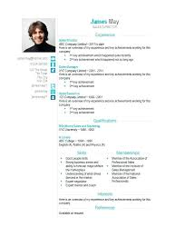 Cv Resume Template Microsoft Word Free Contact Icons Word Format