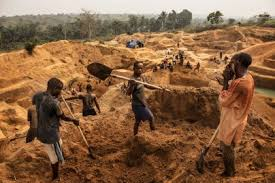 Image result for abandoned diamond mine pit