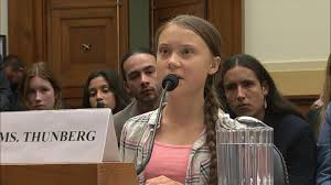 Greta Thunberg, teen climate activist, tells US lawmakers 'listen to the  scientists' - ABC News