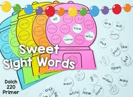 40 Kindergarten Sight Word Games File Folder Fun Sight