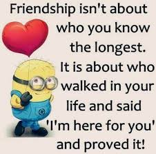 Photo Quotes About Friendship Top 100 Minions Friendship Quotes Funny Minions Memes 83