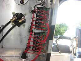 blue seas bep the hull truth boating and fishing forum this series shows wiring at rear of switch panel terminal blocks buss bars amp power cables there are some 18 circuits running here although some are