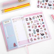 Buy Creative Cute Student Daily Plan Notebook Office School