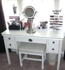 makeup desk with drawers white wooden makeup desk with round mirror having wooden drawers and glass makeup desk with drawers