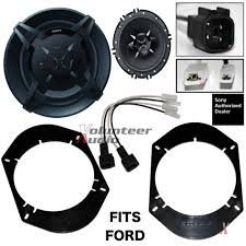 sony xsfb1630 6 5 speakers 1 pair front rear adapters Speaker Wire Harness Adapter Ford image is loading sony xsfb1630 6 5 speakers 1 pair front metra - speaker wire harness adapter for most 1999 or later ford trucks