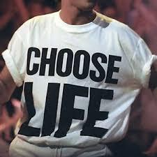 george michael wham choose life.  Michael Image Is Loading CHOOSELIFETShirtWhamReplicaGeorgeMichael To George Michael Wham Choose Life A