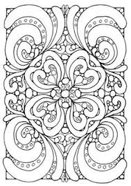 Small Picture Abstract Coloring Pages Free Coloring Pages