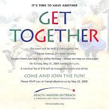Gathering Invitation Template Get Together Invitation Wording Sample