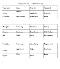 Vocational Careers List 330 Free Jobs And Professions Worksheets