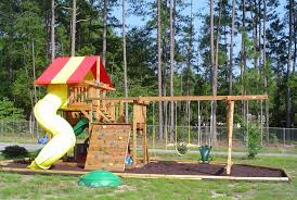 11 free wooden swing set plans to diy today with swing set designs renovation