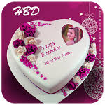 Name And Photo On Cake Birthday Cake Frame 301 Apk Android 40x