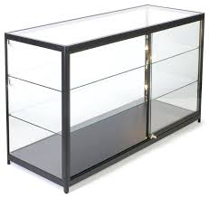lighted glass display case inch mobile counter display showcase sliding door lighted glass display case lighted