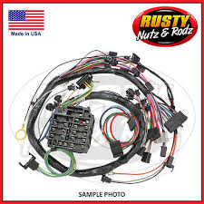 ez wiring 21 standard color wiring harness kit chevy mopar ford 55 chevy dash forward lamp wiring harness w alternator driver side int reg